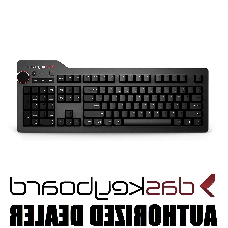 Das Keyboard 4 Professional Clicky MX Blue Mechanical Keyboa