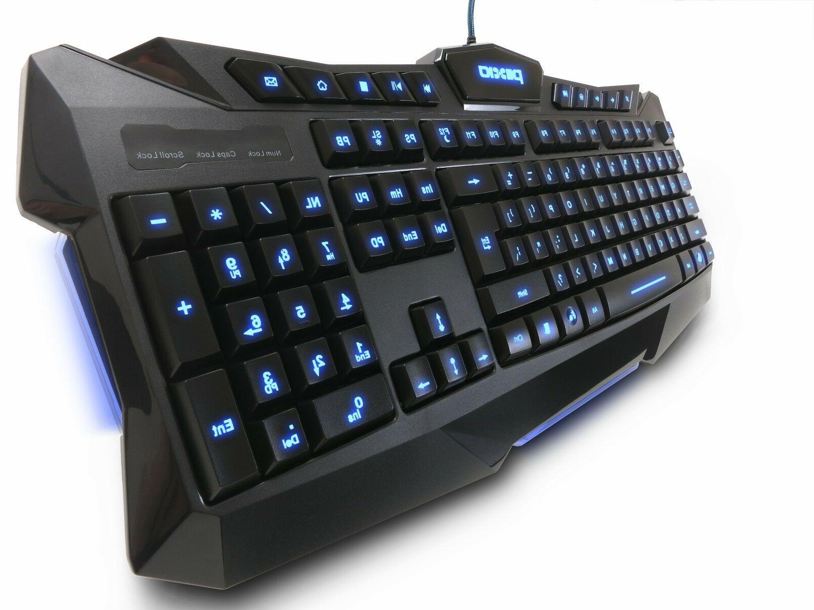 Plixio Wired USB Changing Keyboard