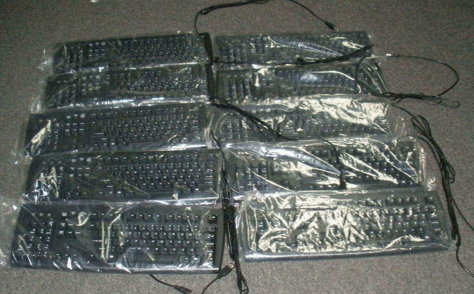 black usb us wired keyboard black usb