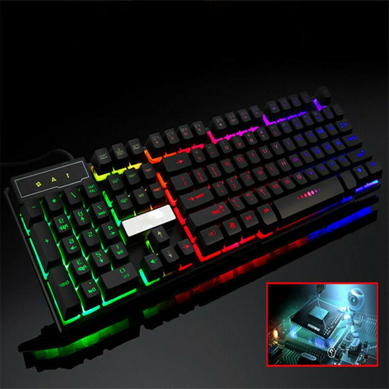 PC Computer Gaming Keyboard LED Light