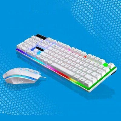 multi colored changing backlight led gaming keyboard