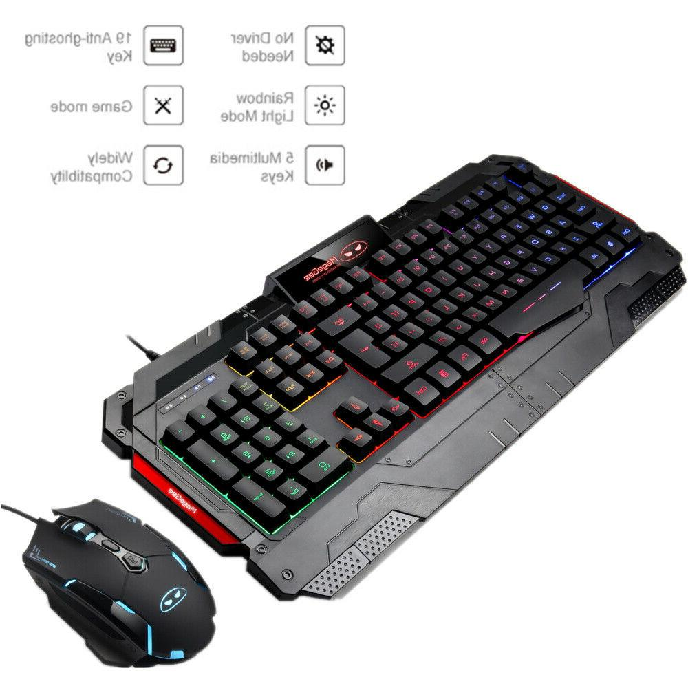 GK806 Wire Gaming and 104Key for PC