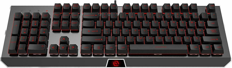 mechanical gaming keyboard backlit pc laptop led