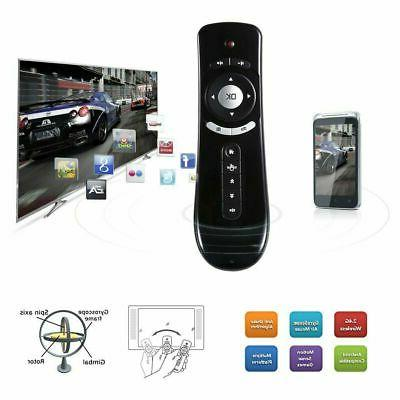 Mini Wireless Remote Control T2 Air Mouse for PC Android Fir