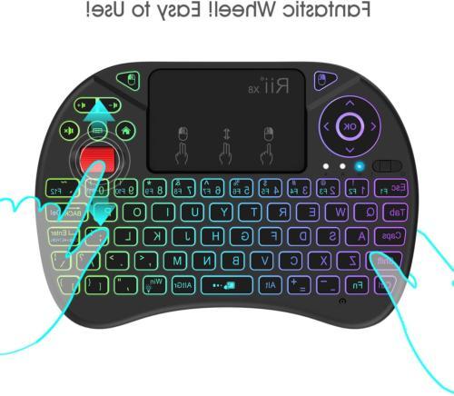 Mini Keyboard Control Touchpad