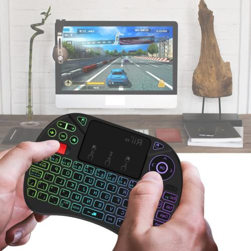 Mini Keyboard Portable 2.4GHz Wireless Control Touchpad Mouse