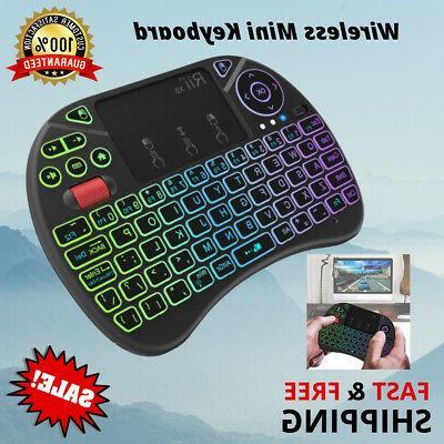 mini keyboard rii x8 portable 2 4ghz