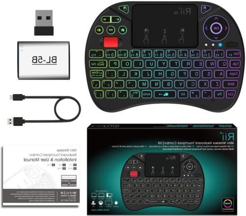 Mini Rii X8 Portable 2.4GHz Wireless Control with