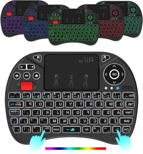 Mini Keyboard X8 Portable 2.4GHz Wireless Remote Control with
