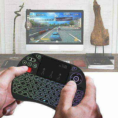 Mini X8 Portable 2.4GHz Mini Wireless Keyboard Controller