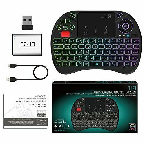 Mini X8 2.4GHz Keyboard with...