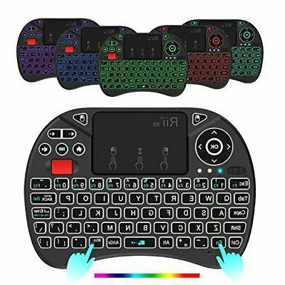 Mini Keyboard,Rii 2.4GHz with...
