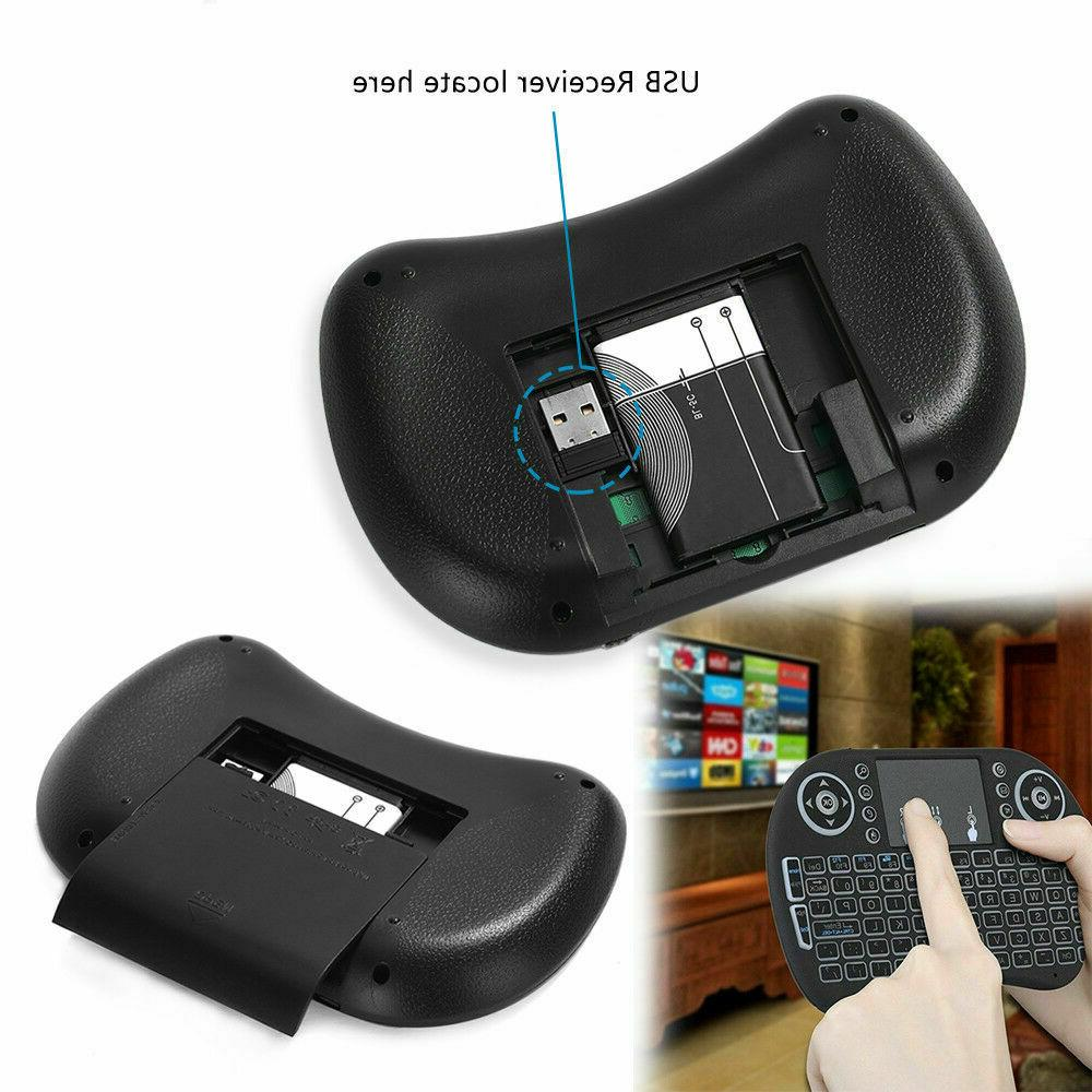 Mini Remote Keyboard Mouse for Samsung,LG TV,Android,Tablet,PC