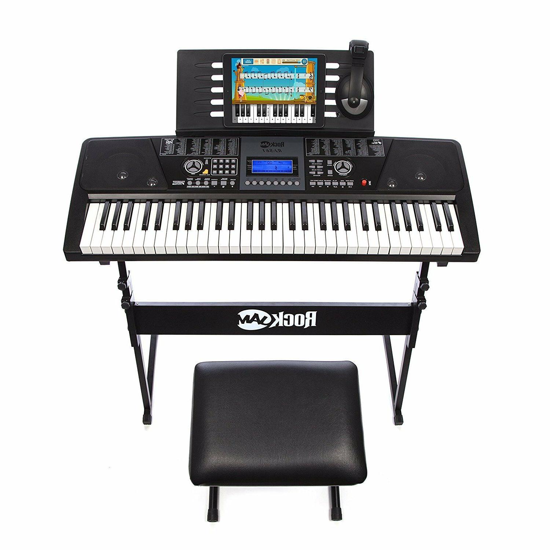 NEW Keyboard w/ Stand Stool