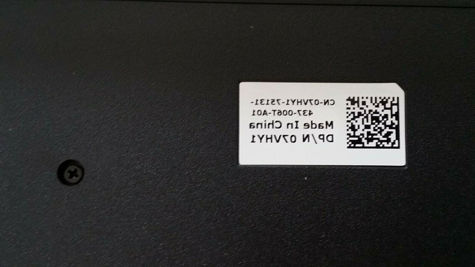 New Wired Key Keyboard 07VHY1