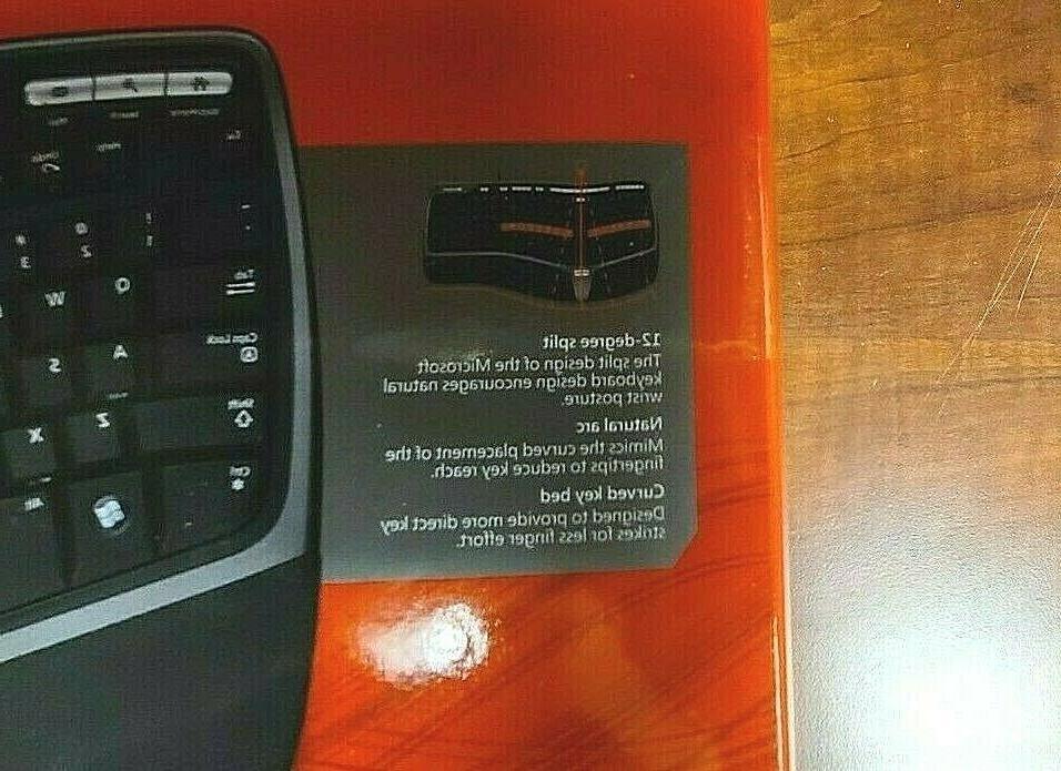 New Box Microsoft Natural Keyboard 4000 Model 1048