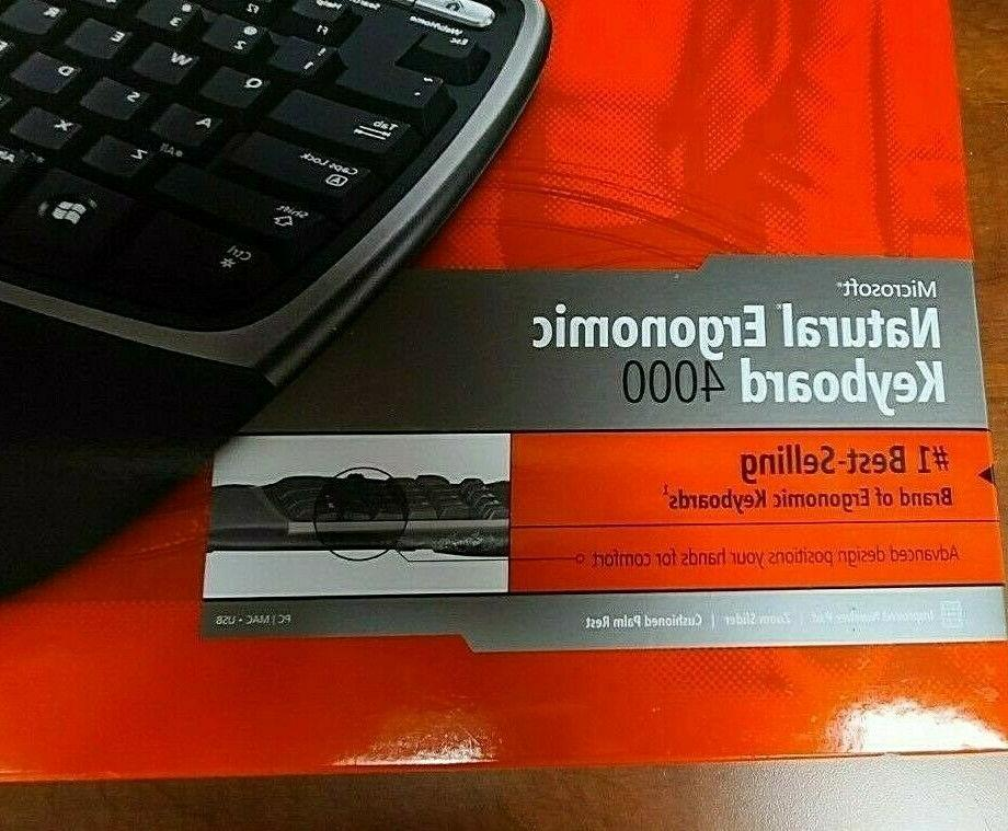 New in Natural Ergonomic Keyboard 4000 Model 1048 Wired