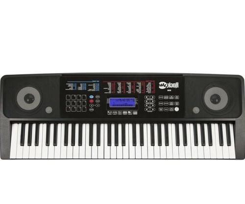 RockJam RJ-761 61-Key Interactive Teaching Keyboard