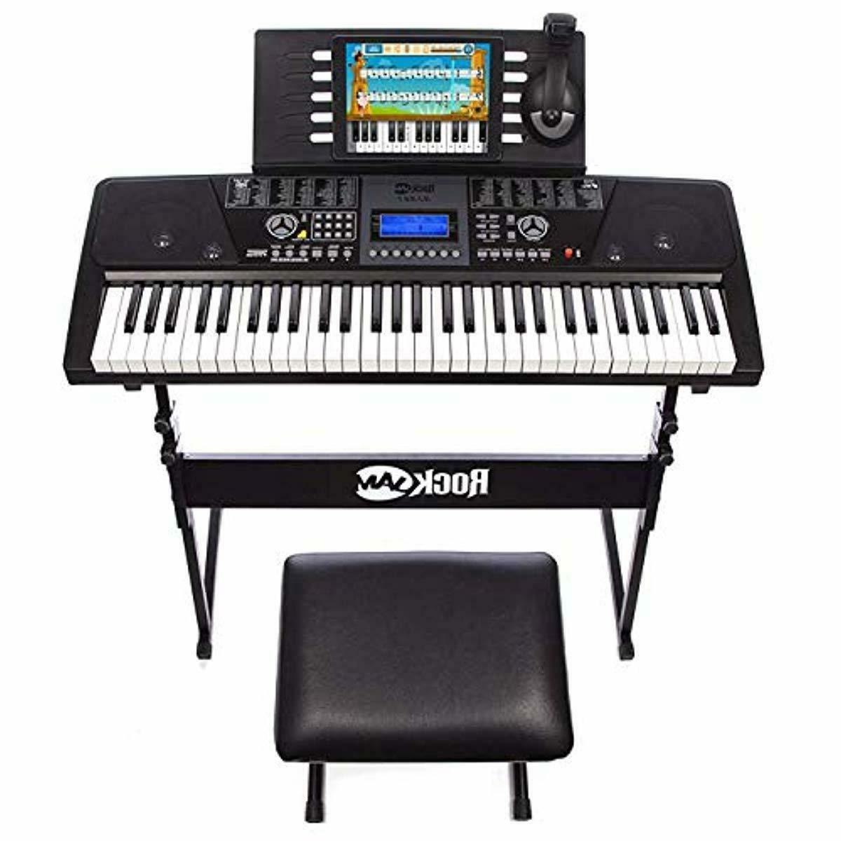 RockJam Piano SuperKit Stool,