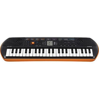 Casio SA-76 Keyboard 100 50 Rhythms & Speakers