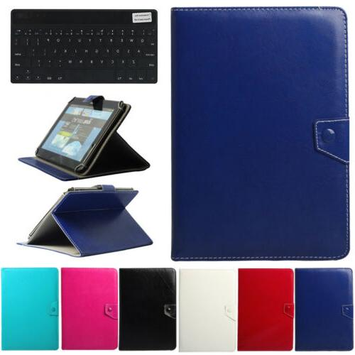 For Lenovo Tablet 2 3 4 M10 Wireless Slim Keyboard With Leat
