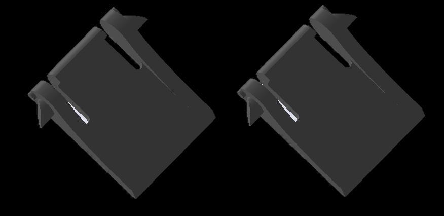 Replacement Gaming Keyboard Foot/Leg/Feet 2pc