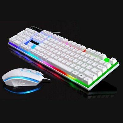 Multi-Colored Gaming Keyboard and Set for