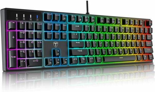 wired mechanical gaming keyboards mx blue switch