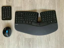 Microsoft L5V-00001 Sculpt Ergonomic Wireless Desktop Keyboa