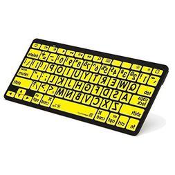 Logickeyboard Bluetooth Mini Keyboard Designed for for Apple