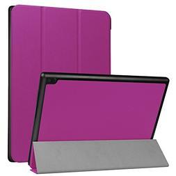 Lenovo Tab 4-10 Inch Slim Shell Case,Mama Mouth Ultra Lightw