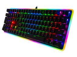 Rosewill Mechanical Gaming Keyboard, RGB LED Glow Backlit Co