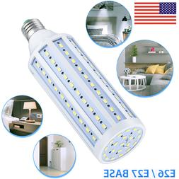 Equivalent LED Bulb 120-Chip Corn Light E26 Cool Daylight 60