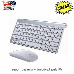 Mini 2.4G Wireless Keyboard and Cordless Mouse Kit for MAC P