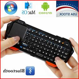 Mini Wireless Bluetooth Keyboard Touchpad iOS Android Window