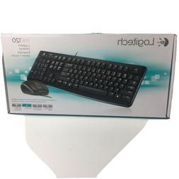 Logitech MK120 920-002565 Wired Keyboard NO MOUSE