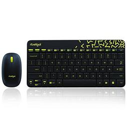 Logitech MK240 NANO Mouse and Keyboard Combo Black Color