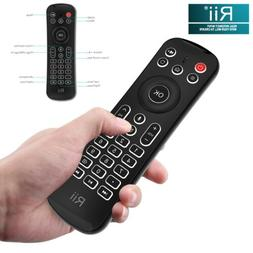 Rii MX6 Backlit Fly Mouse Mini Keyboard IR Remote Controller