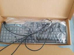 New Dell 7VHY1 USB Wired Multi Media 104 Key black Keyboard