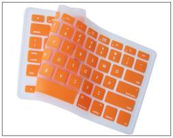 Generic Orange Keyboard Silicone Cover Skin for MacBook/MacB