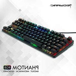 Tecware Phantom 87 Key Mechanical Keyboard, RGB led, Outemu