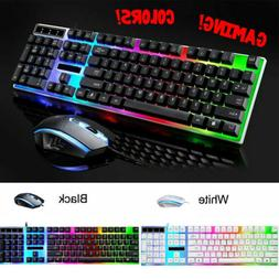 Rainbow Keyboard Mouse Set for PS4 PS3 Xbox One and Xbox 360