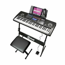 RockJam RJ761 61 Key Electronic Interactive Teaching Piano K