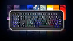 Rii RK300 LED Backlit Gaming Keyboard  New