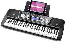 rockjam 54 key portable electronic keyboard