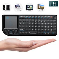 Rii RT-MWK01 2.4Ghz Mini Wireless Keyboard for PC Kodi Andro