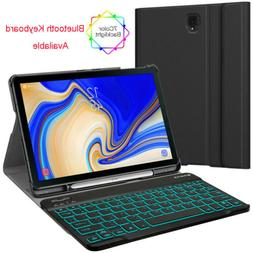 """For Samsung Galaxy Tab S4 10.5"""" Case With 7 Color Backlight"""