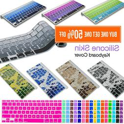 Silicone Keyboard Cover Skin for Apple MacBook Pro Air 13 15