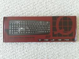 slim USB wired keyboard