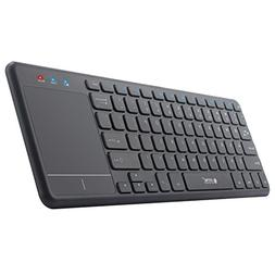 Touchpad Keyboards, 2.4GHz Ultra Slim Wireless Keyboard with
